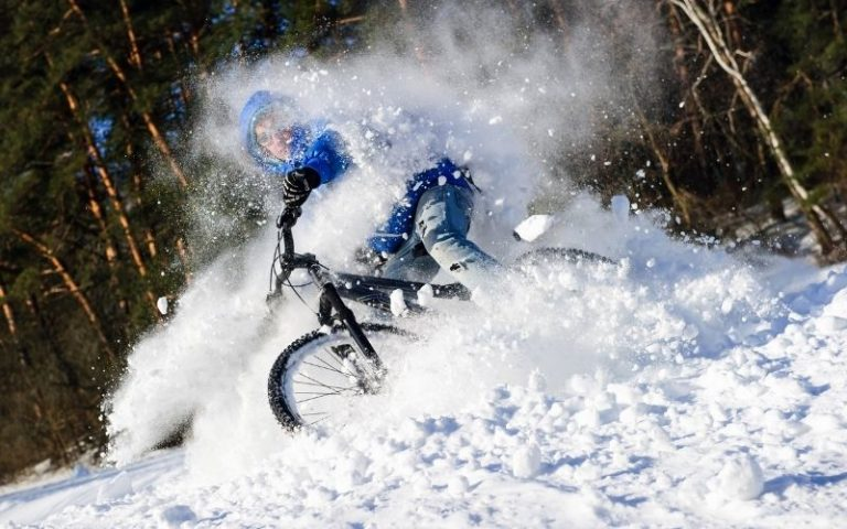 Ride a Mountain Bike in the Snow